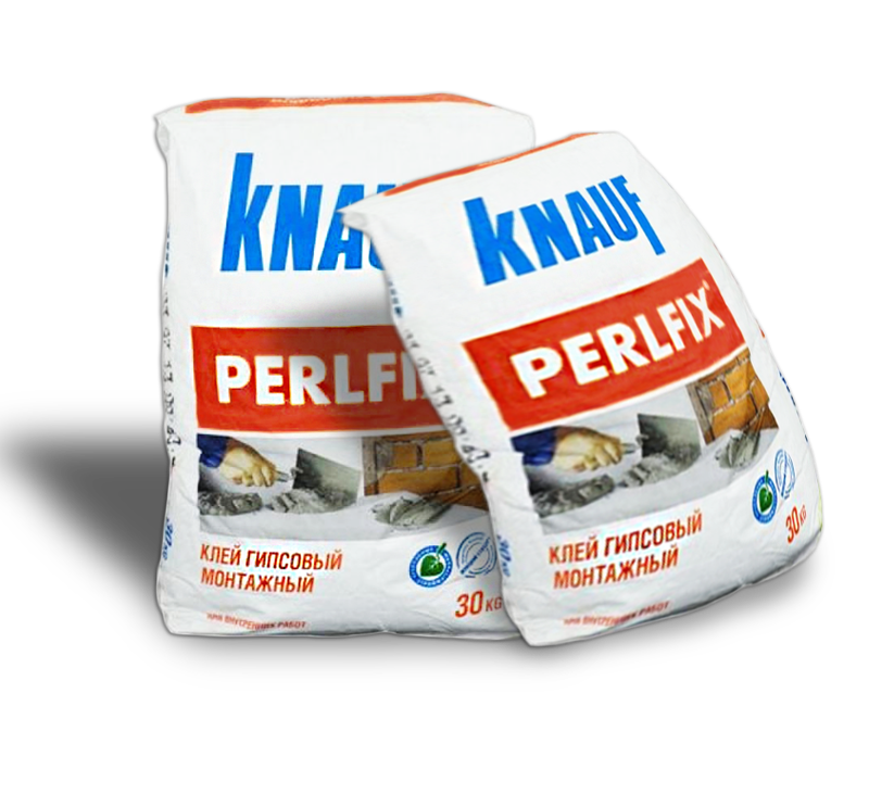 Клей knauf perlfix: технические характеристики и расход на 1 м2, гипсовый монтажный состав в фасовке 30 кг