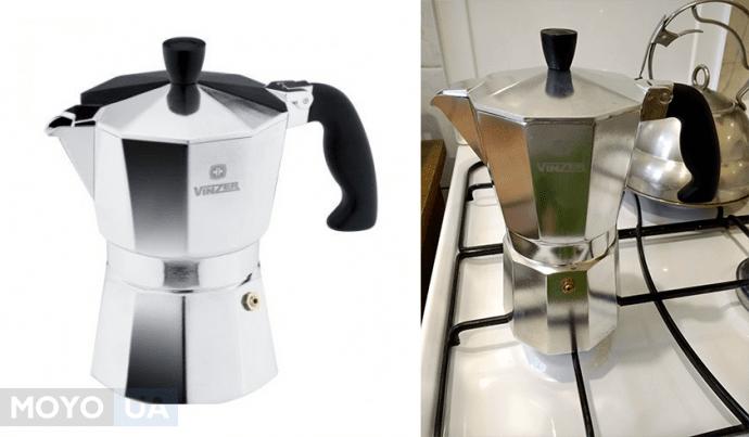 итальянская кофеварка гейзерного типа