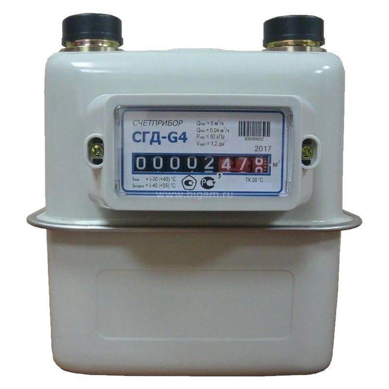Газовый счётчик сгбм 1.6 – обзор и как снимать показания