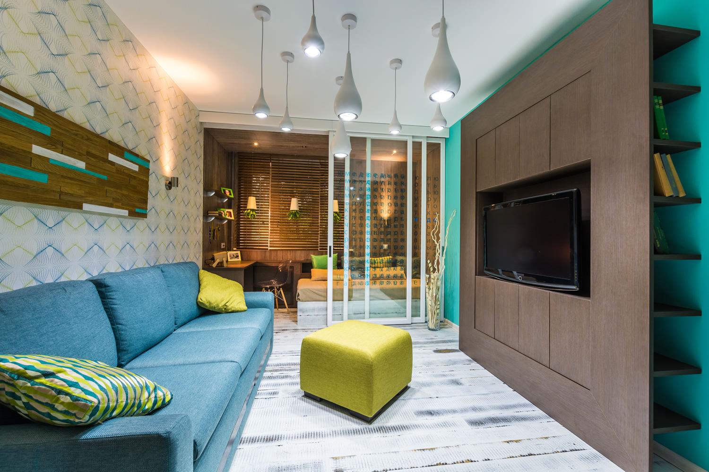 гостиная спальня 20 кв м дизайн фото