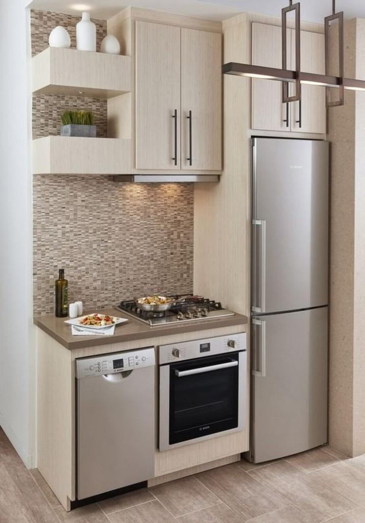 Кухонный гарнитур для маленькой кухни: виды и выбор