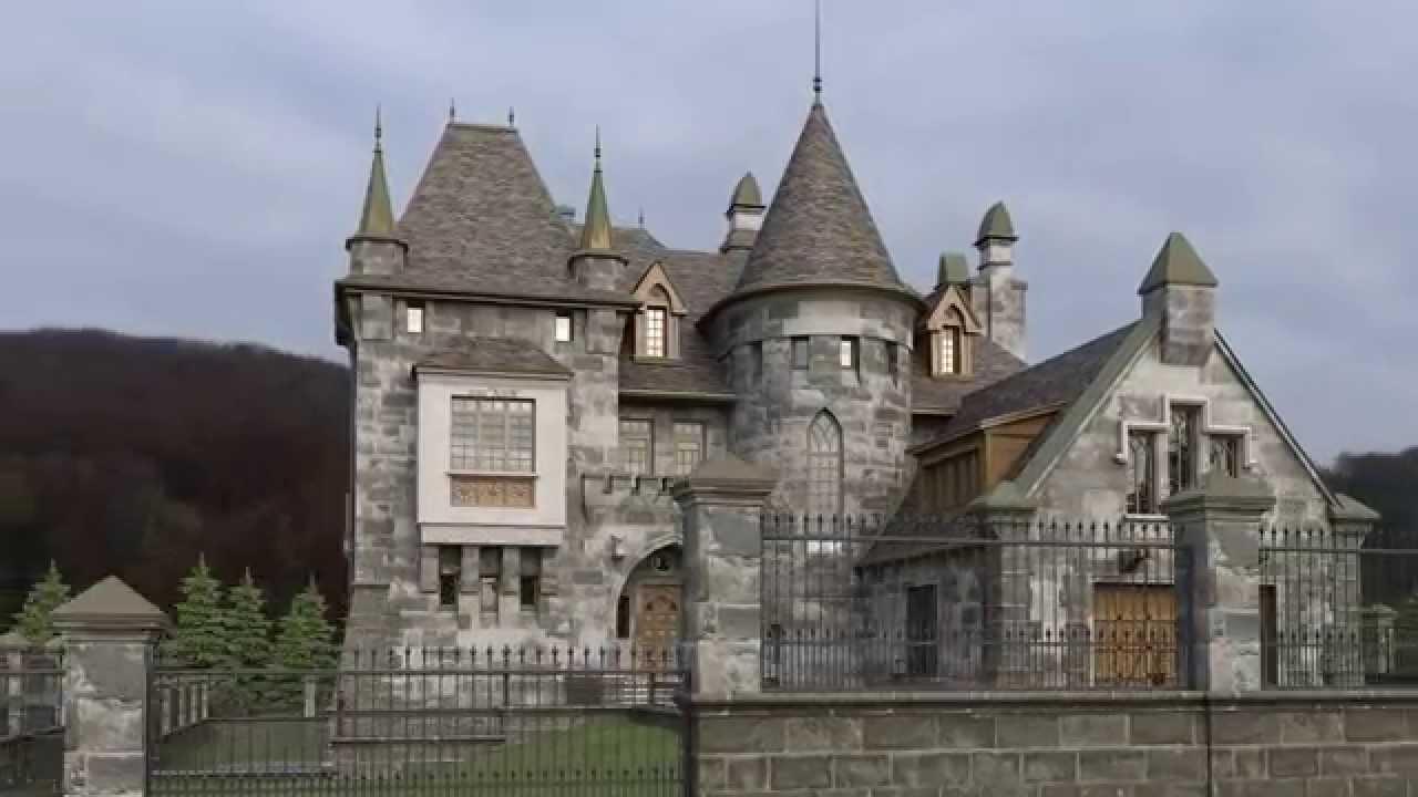 Дом в стиле замка – возможные варианты исполнения - 16 фото