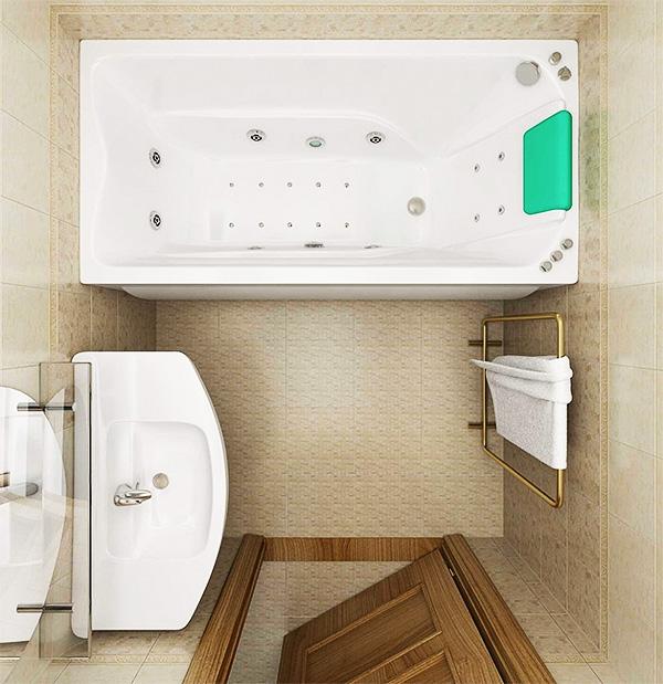 Ванная 4 кв. м.: 120 фото грамотной организации маленького пространства