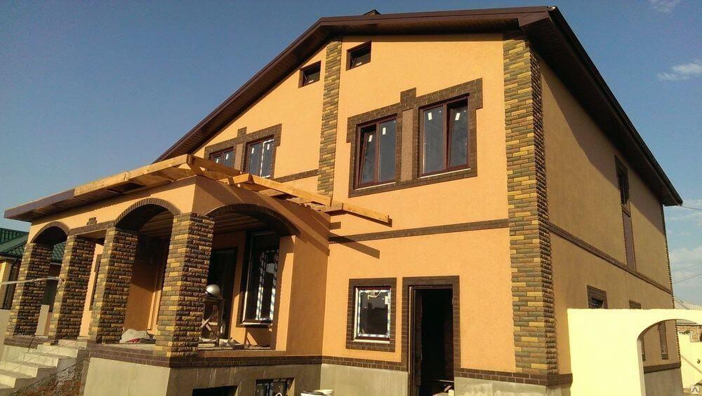 отделка фасадов домов современными материалами