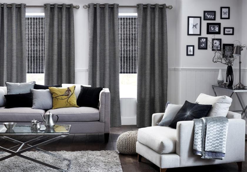 Тюль в зал без штор в современном стиле: новинки, дизайн и варианты для гостиной  - 37 фото