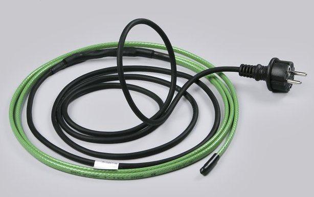 Принцип работы греющего кабеля для водопровода