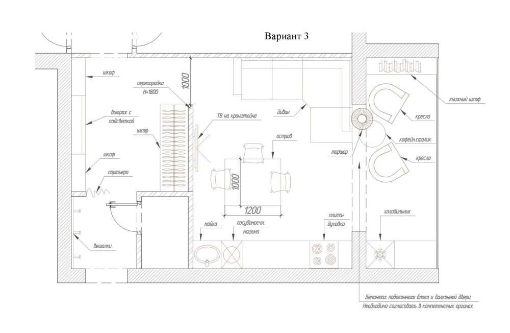 Чертеж кухонного гарнитура с размерами - лучшие варианты и идеи!