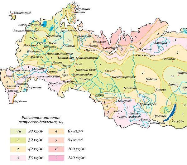Снеговая нагрузка: расчет, нормативная нагрузка по районам по снип, расчетная снеговая нагрузка по регионам россии, 3, 4 и другой снеговой район