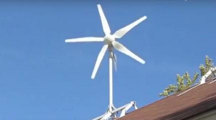 Вертикальный ветрогенератор нового поколения, схема, своими руками