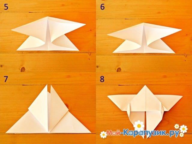 поделки из белой бумаги а4
