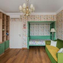 Обои в комнату для подростка девочки: рекомендации по выбору стиля и цвета + фото