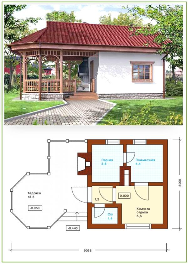 Лучшие варианты проектов пристройки террас и веранд к частному дому