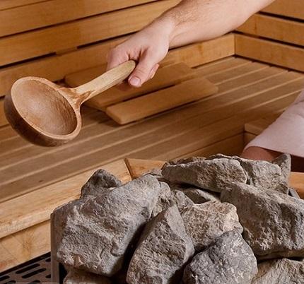 какие камни подходят для бани в парилку