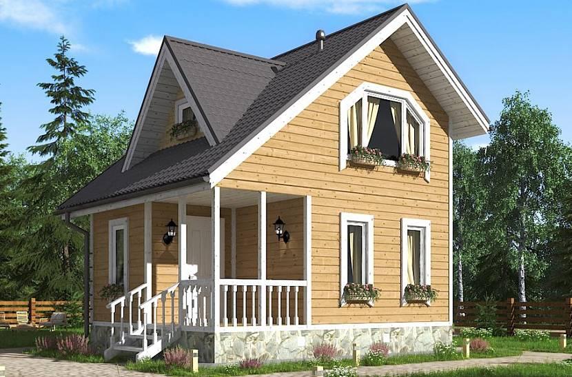 Летние домики под ключ: садовые, дачные с верандой, проекты для строительства, цены в москве
