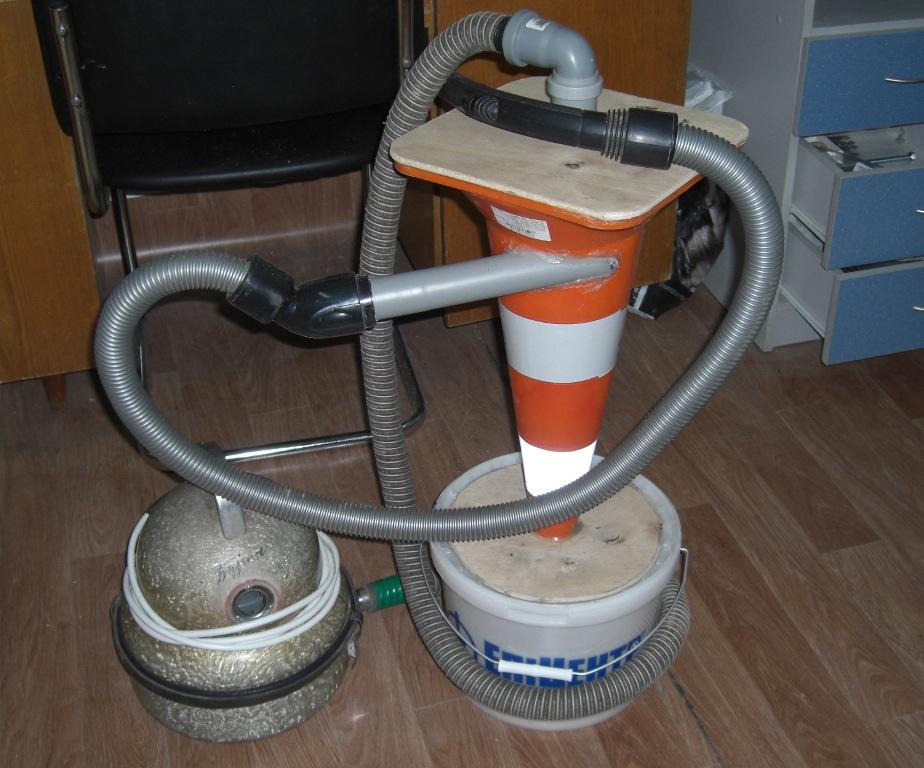 Строительный пылесос своими руками: из бытового аппарата, из подручных материалов