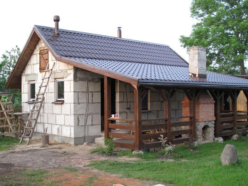 Проекты бани с террасой, барбекю и комнатой отдыха (6х4, 6x6): строим из бруса и кирпича + фото