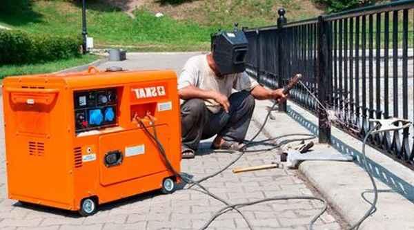 Какой нужен генератор для сварочного инвертора по мощности