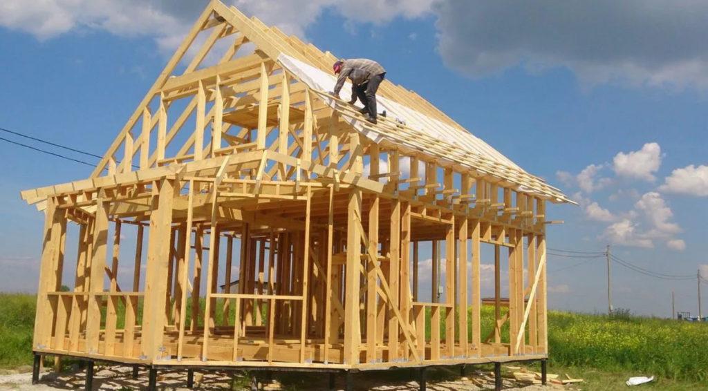 Как построить каркасный дом своими руками, дом с нуля видео