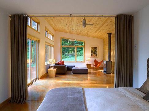 Как разделить комнату на две зоны - своими руками, описание, фото
