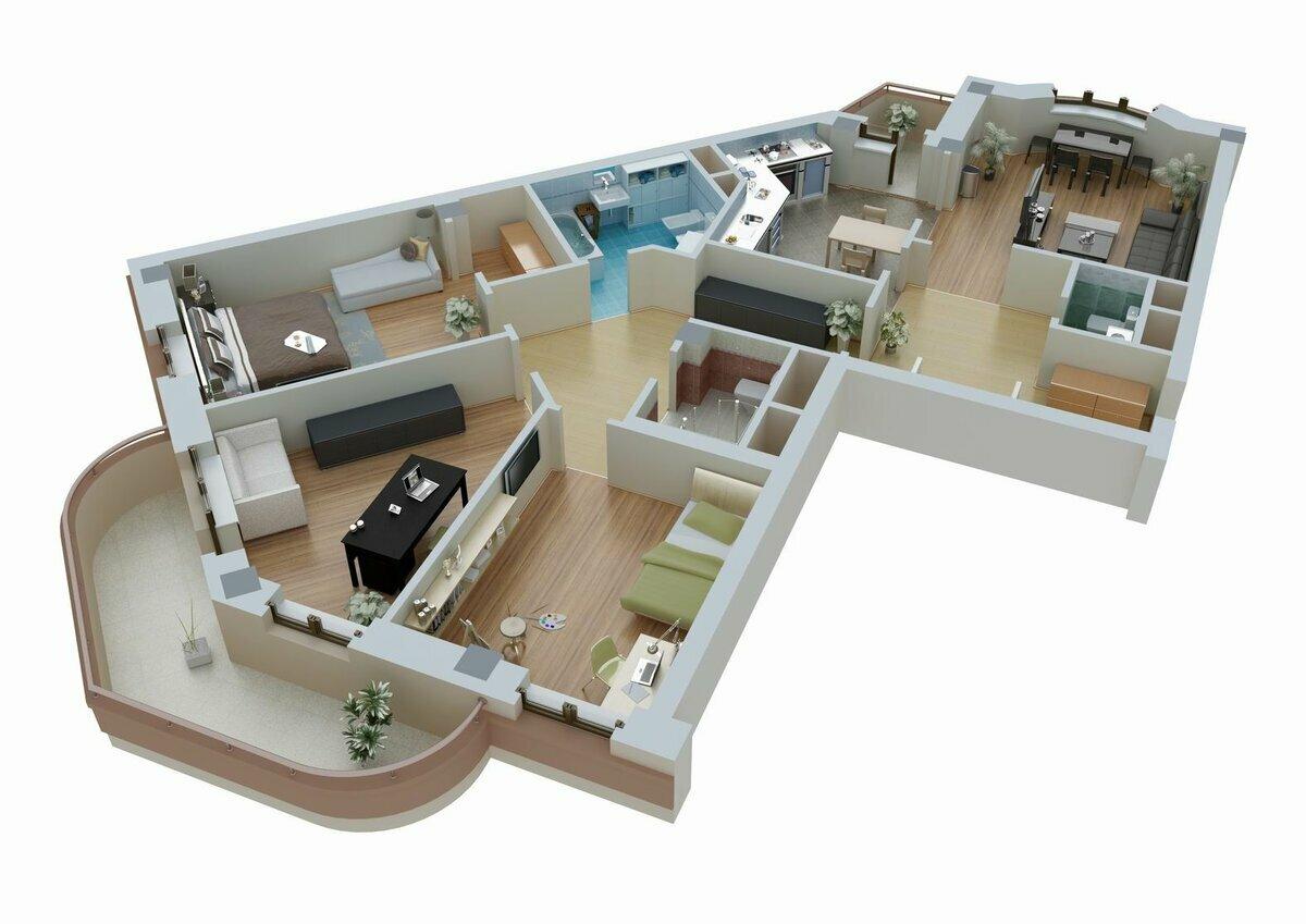Комната под крышей: инструкция по последовательности  проведения работ и варианты чердачных комнат - 42 фото