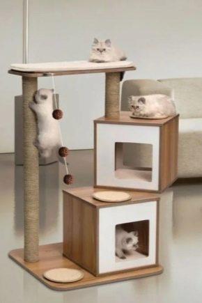 уголок для кошки своими руками