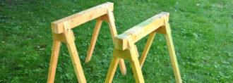 Козлы для пилки дров бензопилой своими руками + фото, чертежи – ремонт своими руками на m-stone.ru