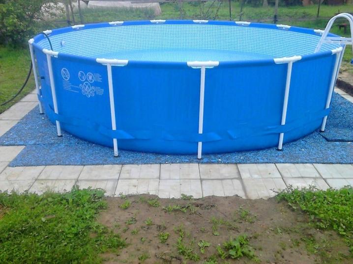 Подложка под каркасный бассейн из пенополистирола: как изготовить основание и провести утепление резервуара, отзывы пользователей