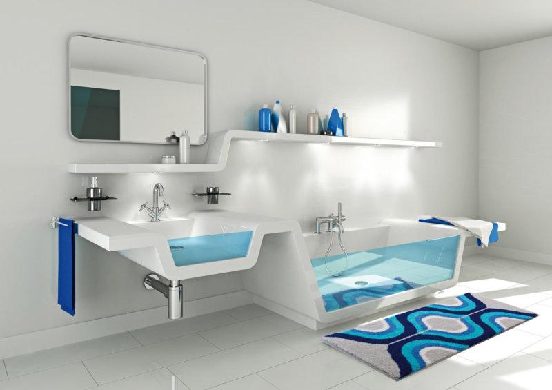 Современный дизайн ванной комнаты: 6 стилей, лучшие цветовые комбинации