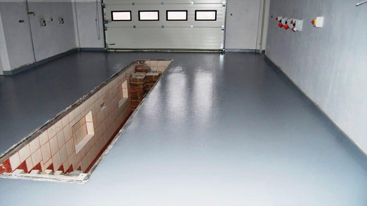 Наливной пол в гараже: что лучше - заливной полимерный пол или жидкий линолеум, как сделать своими руками, аргументы против