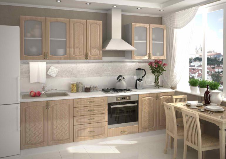 Угловые кухни — 137 фото малогабаритных моделей