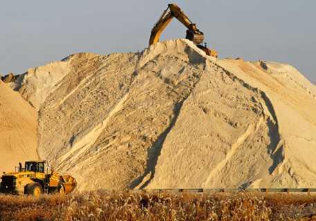 Речной и карьерный песок. как перевести кубы в тонны?