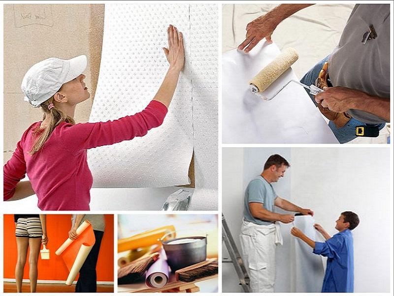 Как убрать пузыри на обоях после поклейки - только ремонт своими руками в квартире: фото, видео, инструкции