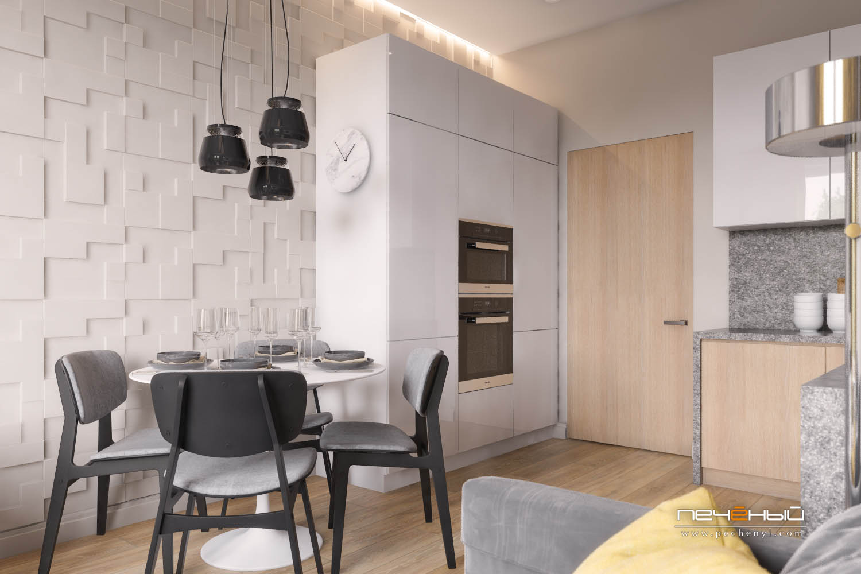 дизайн кухни 16 квадратных метров