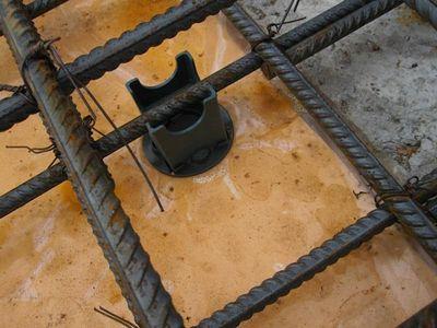 Армирование плиты фундамента: схема, диаметр арматуры