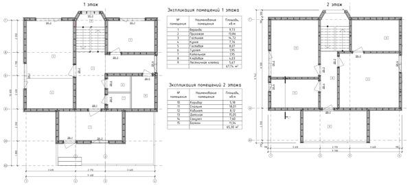 Планировка одноэтажных домов 6х9 — удачные проекты
