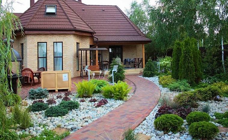 Ландшафтный дизайн участка 4 сотки: особенности планирования и выбор садовых объектов