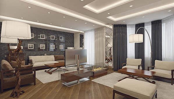Дизайн маленькой квартиры - 85 фото интерьеров после ремонта, красивые идеи