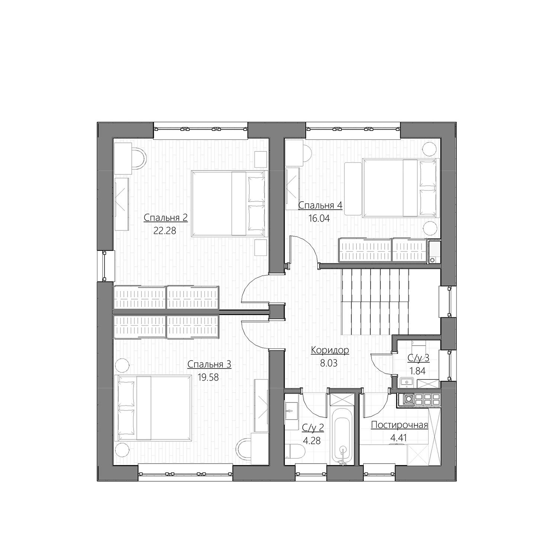 площадь жилой комнаты
