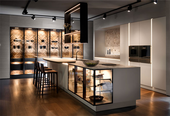Дизайн кухни-гостиной в современном стиле (65 фото): красивые интерьеры, идеи ремонта и отделки