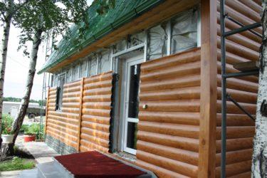 Блок хаус имитация бревна, цена за м2, купить в москве дешево от производителя