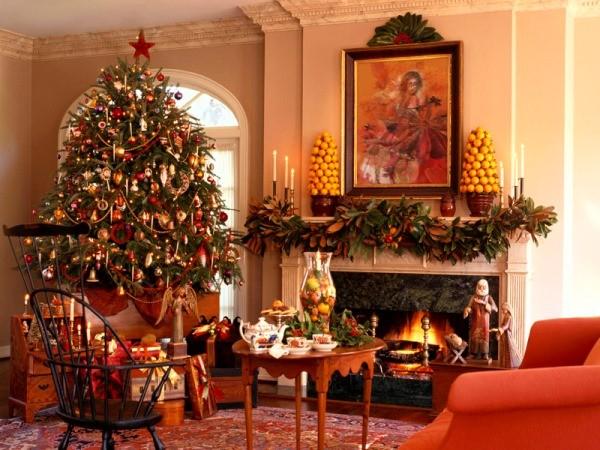 Украшения к новому году: идеи декора и варианты оформления дома и квартиры к новогодним торжествам (135 фото)