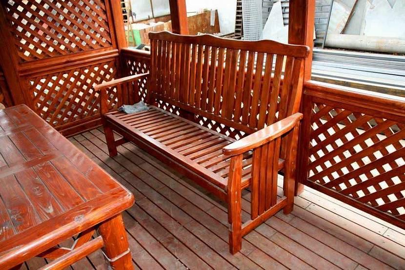 красивые скамейки