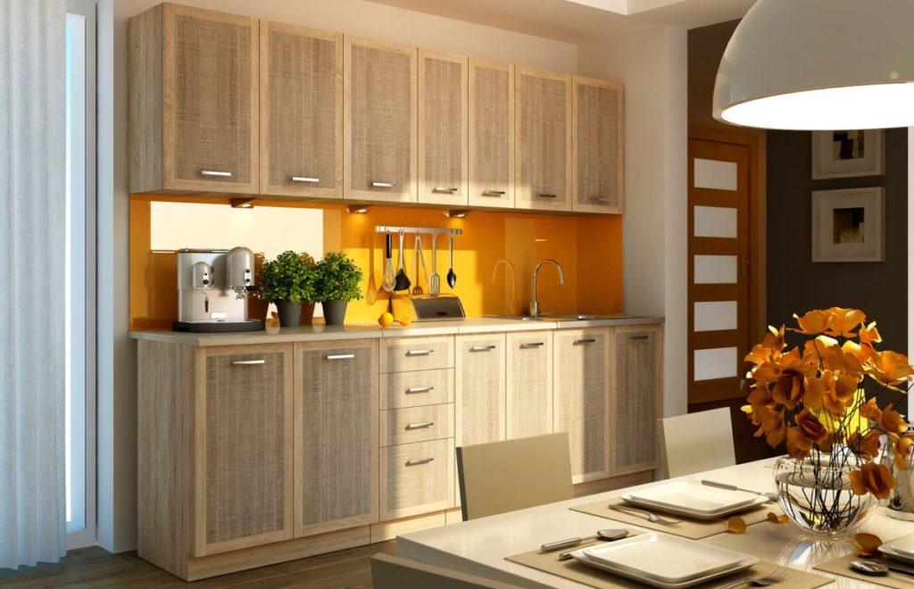 Как обустроить п-образную кухню