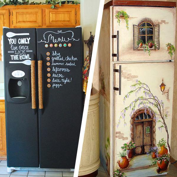 Как и чем можно покрасить холодильник своими руками в домашних условиях. как и чем можно покрасить холодильник в домашних условиях