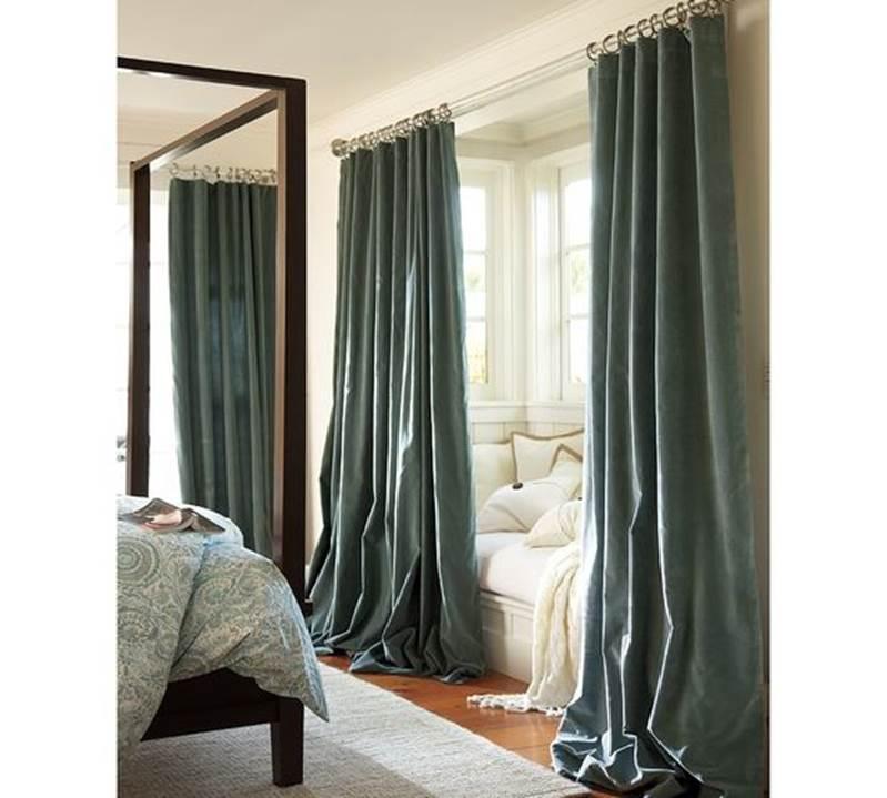 Как выбрать шторы: как правильно выбирать, ширина и длина, высота занавесок от пола