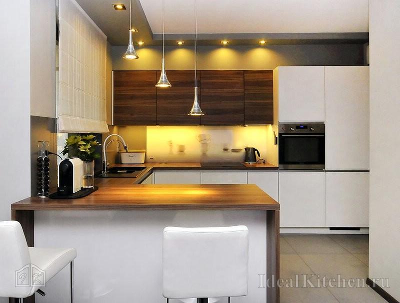 Интерьер кухни в стиле модерн: дизайн, отделка, декор (фото)