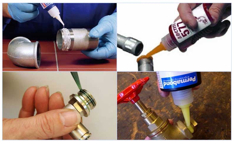 Резьбовой герметик: виды, состав, свойства, применение, преимущества и недостатки