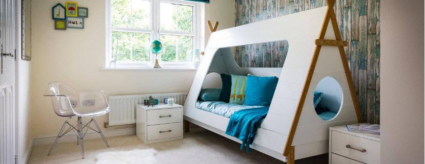 Дизайн детской комнаты для мальчика: расстановка мебели, стены, освещение + фото