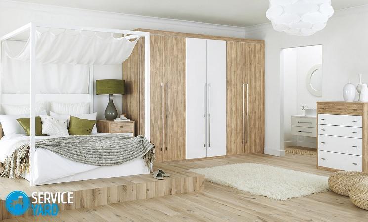 как поставить кровать по фэншую в спальне
