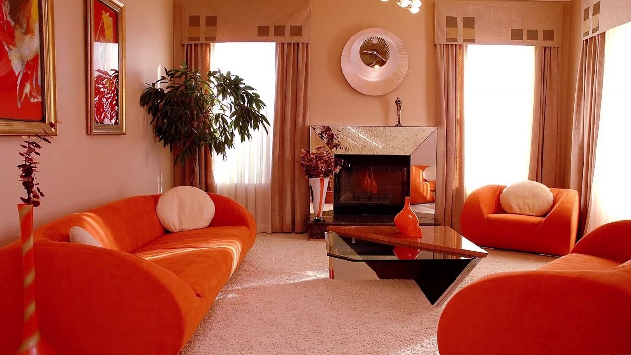 сочетание персикового цвета